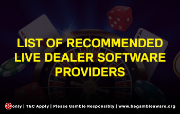 List Of Recommended Live Dealer Software Providers